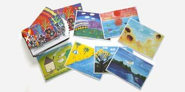 Tisk razglednic