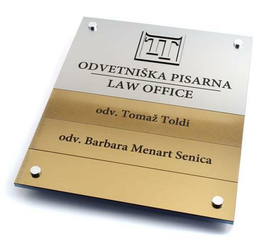 Tabla odvetniška pisarna Tomaž Toldi