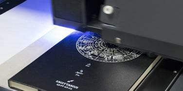 UV tisk na rokovnike