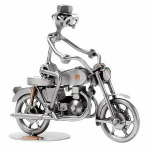 Skulptura motorno kolo