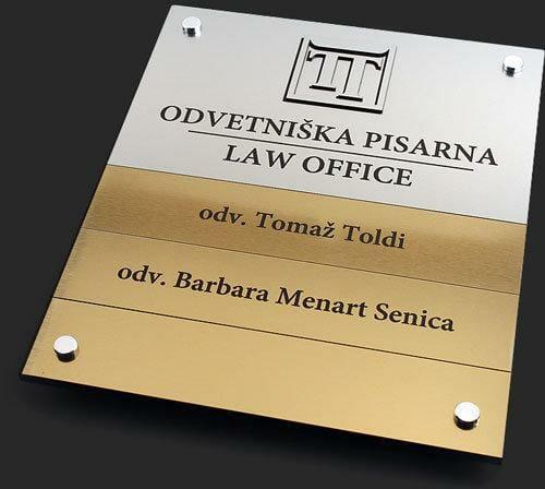 Tabla odvetniška pisarna
