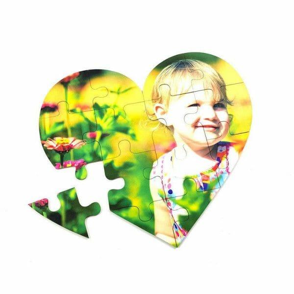 Puzzle srček otrok