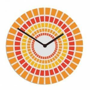 Stenska ura cerknica oranžna