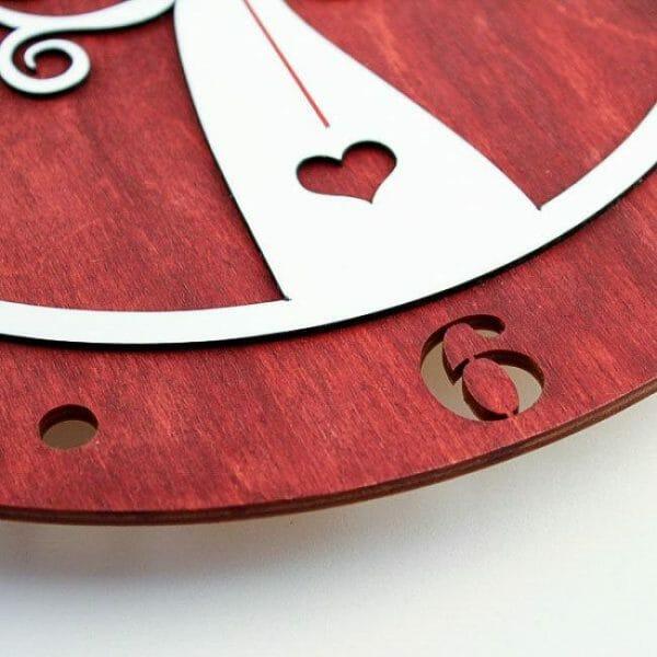 Stenska ura Hrastnik od blizu