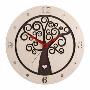 Stenska ura Hrastnik rjava