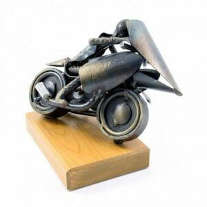 Motorist skulptura