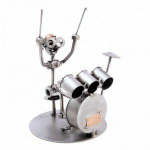 Skulptura bobni, glasba, bobnar