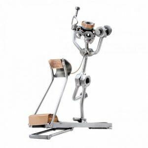 Fitneser kovinska skulptura