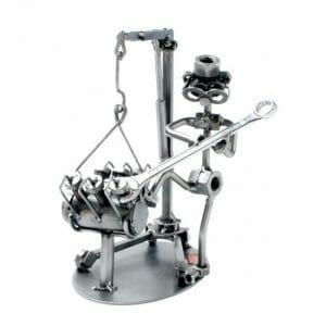 Mehanik kovinska skulptura
