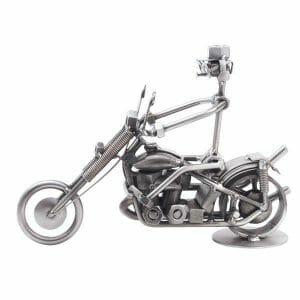Davidson motor kovinska skulptura