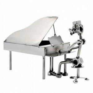 Pianist kovinska skulptura