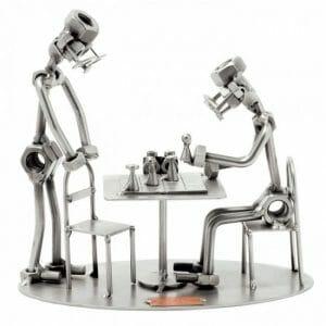 Šah kovinska skulptura