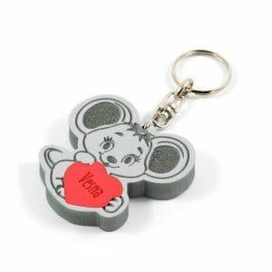 Miška obesek za ključe