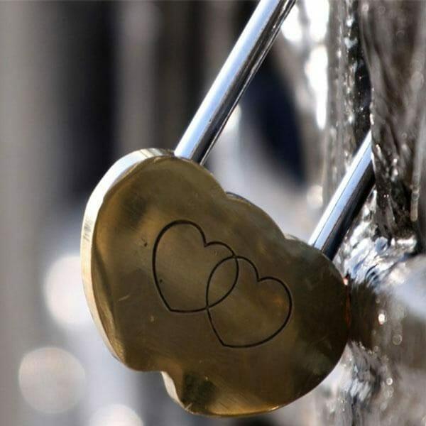 Ključavnica ljubezni darila za pare