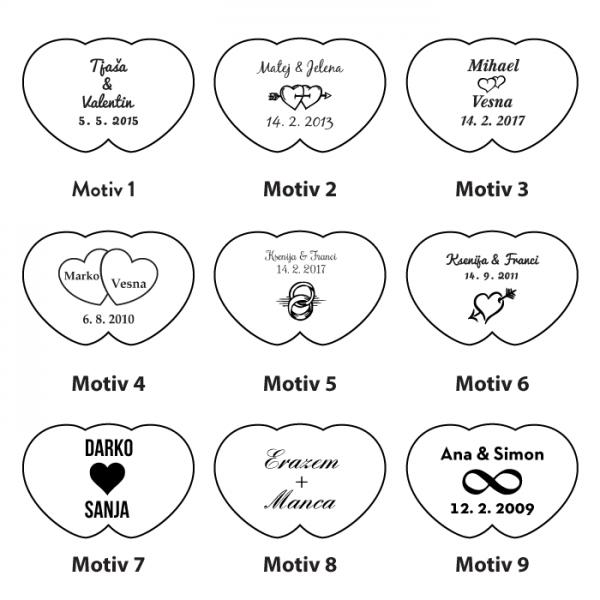Motivi za ključavnice ljubezni