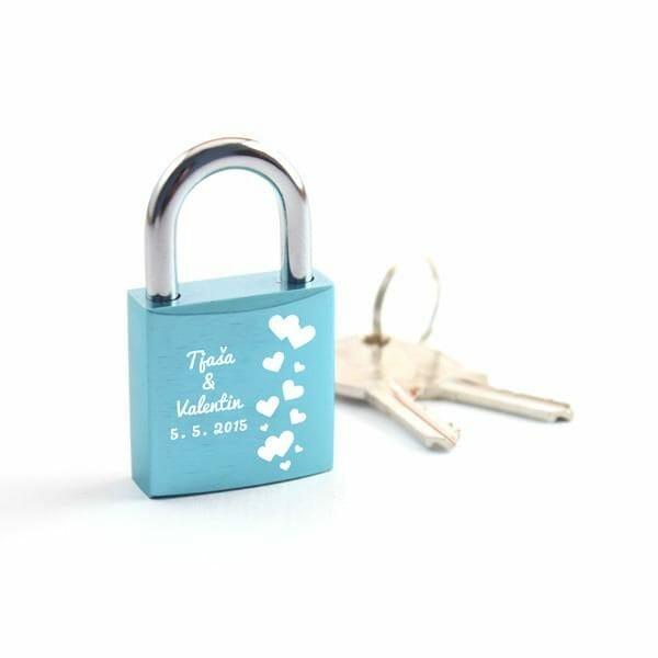 Ključavnice ljubezni, valentinovo darila