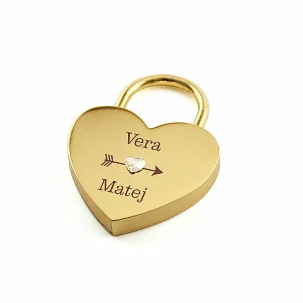 Darilo za fanta, valentinova dairla, ključavnice ljubezni
