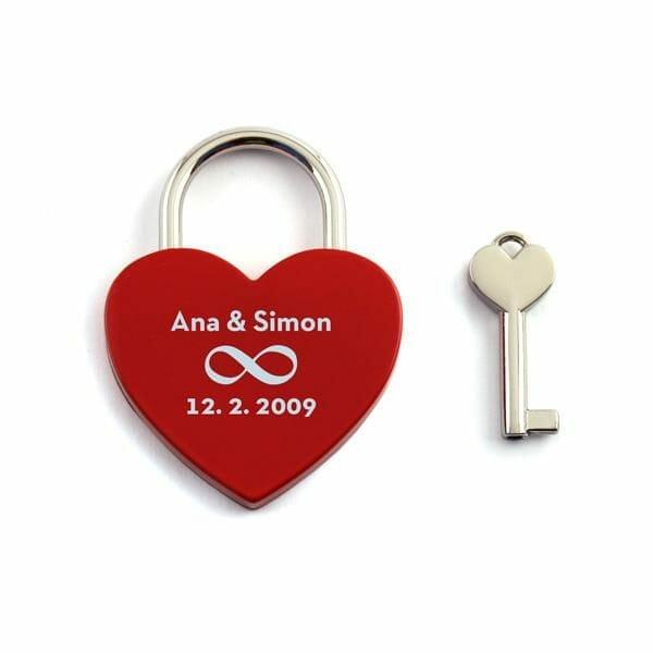 Ključavnice ljubezni, darilo za fanta, darila za pare