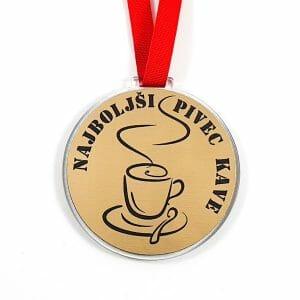 Medalja kava, najboljši pivec kave
