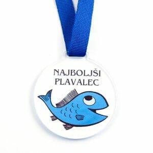Medalja Najboljši Plavalec, plavanje za otroke