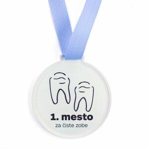 Medalja za čiste zobe, medalje za otroke