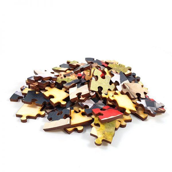 Lesene Foto Puzzle