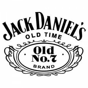 Jack Daniels nalepka za avto