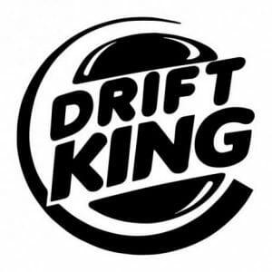 Drift King avto nalepka