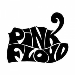 Pink Floyd nalepka za avto