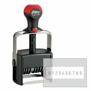 H-6510PL Shiny numerator kovinski