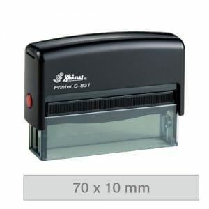 Shiny Printer S-831 avtomatska štampiljka
