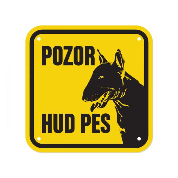 bulterier pasje tablice, tablice za pse pozor hud pes