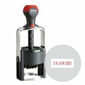 Shiny H-6110 datumska okrogla štampiljka