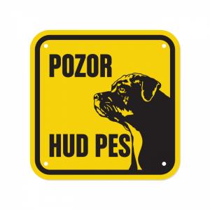 rotvajler, tablica za pse za dvoriščne tablico hud pes