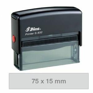 Shiny Printer S-832 avtomatska štampiljka
