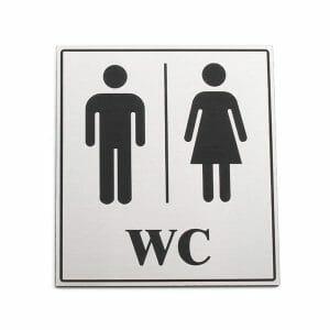 oznaka za toaleto moški ženska WC