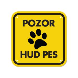 pasja tačka za opozorilno tablo za pse z imenom