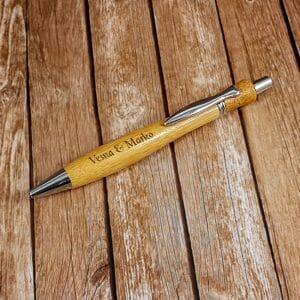 Lesen kemični svinčnik z gravuro