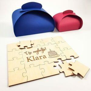 Puzzle za rojstni dan, knjiga gostov