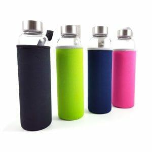 Flaške za vodo večbarvne z gravuro