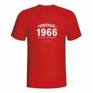 Vintage majica za rojstni dan