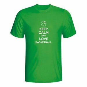 Keep Calm and Love Basketball, majica