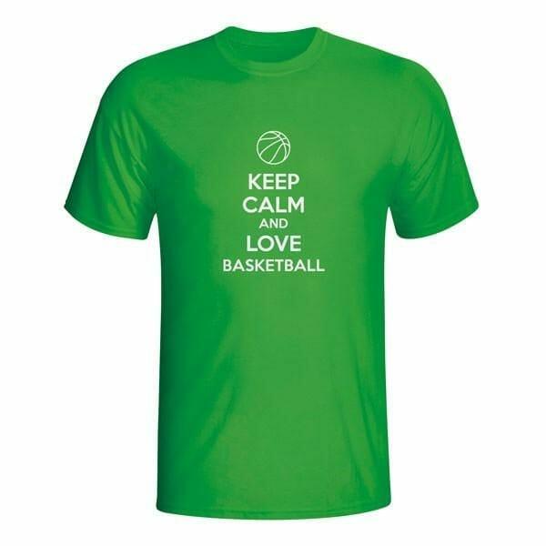 Keep Calm and Love Basketball, majica