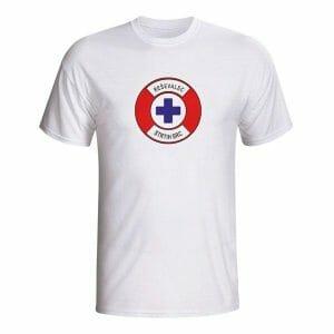 Reševalec strtih src, majica