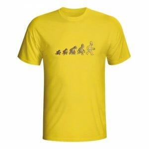 Simpsons evolucija, majica