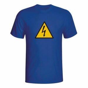 Pozor elektrika majica