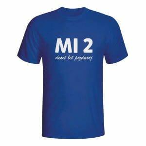 MI2 deset let pizdarij, majica
