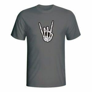 Metal kostko majica