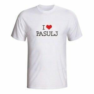 I love pasulj, majica