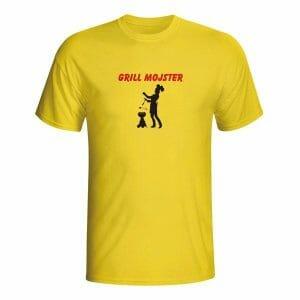 Grill mojster, majica z lastnim napisom
